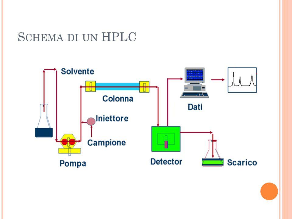 S CHEMA DI UN HPLC