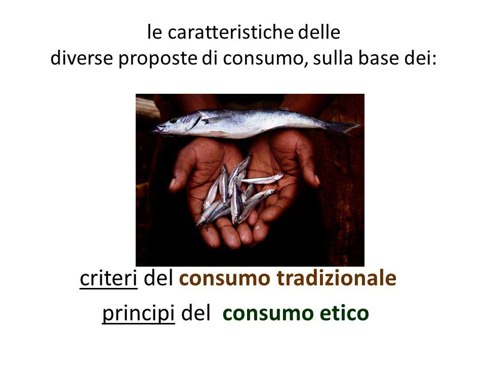 Il consumo equo- solidale, quindi, è l'acquisto di prodotti del Fair Trade .
