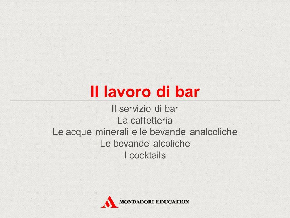 Il lavoro di bar