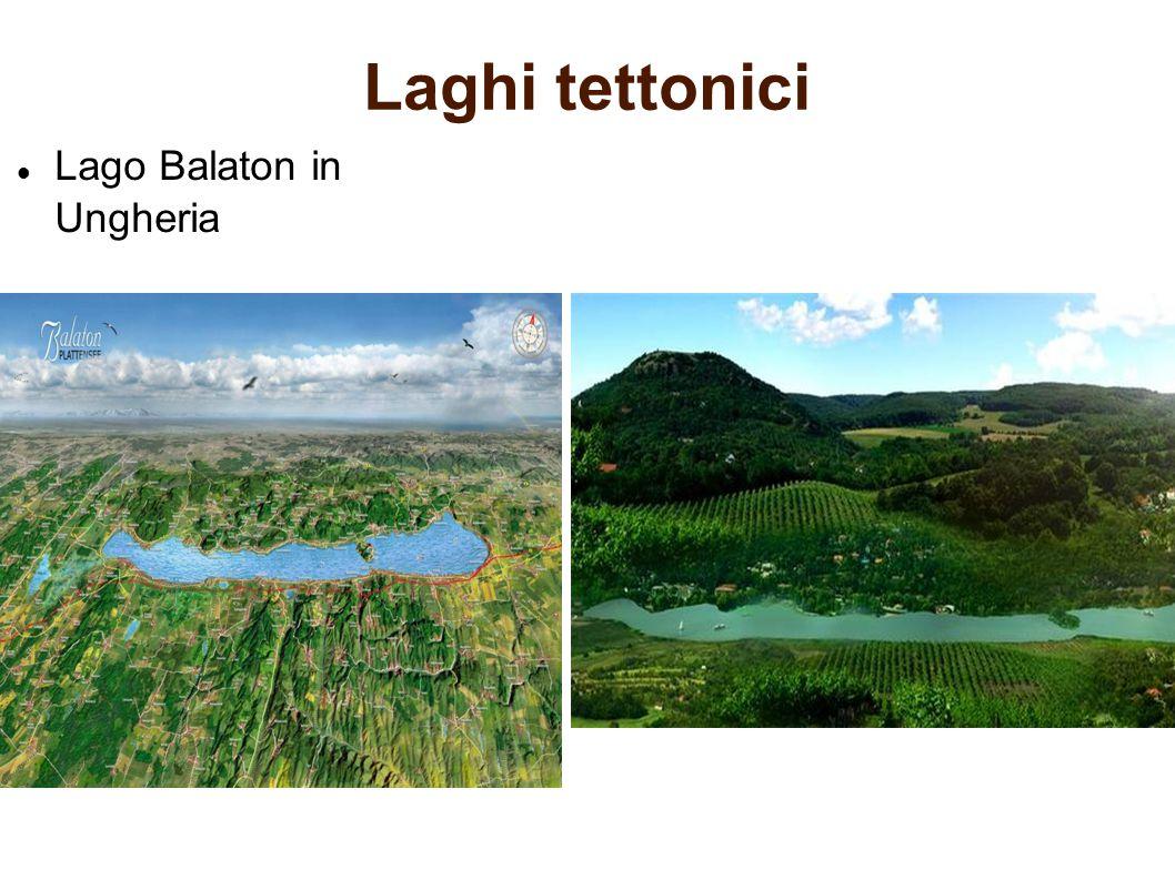 Laghi tettonici Lago Balaton in Ungheria