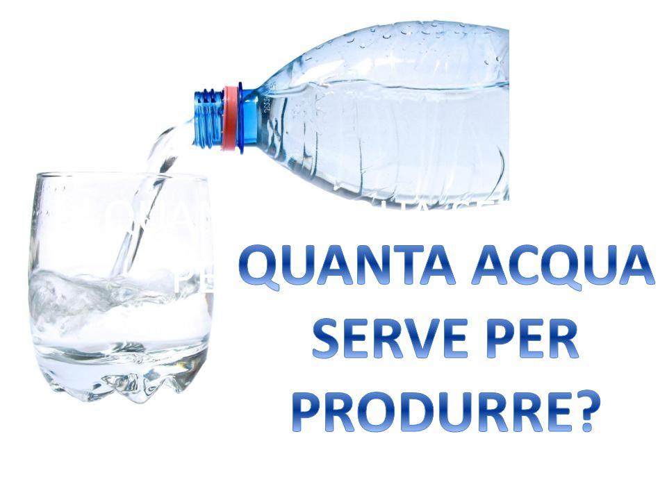 L acqua minerale è da vietare perché dannosa per l ambiente .