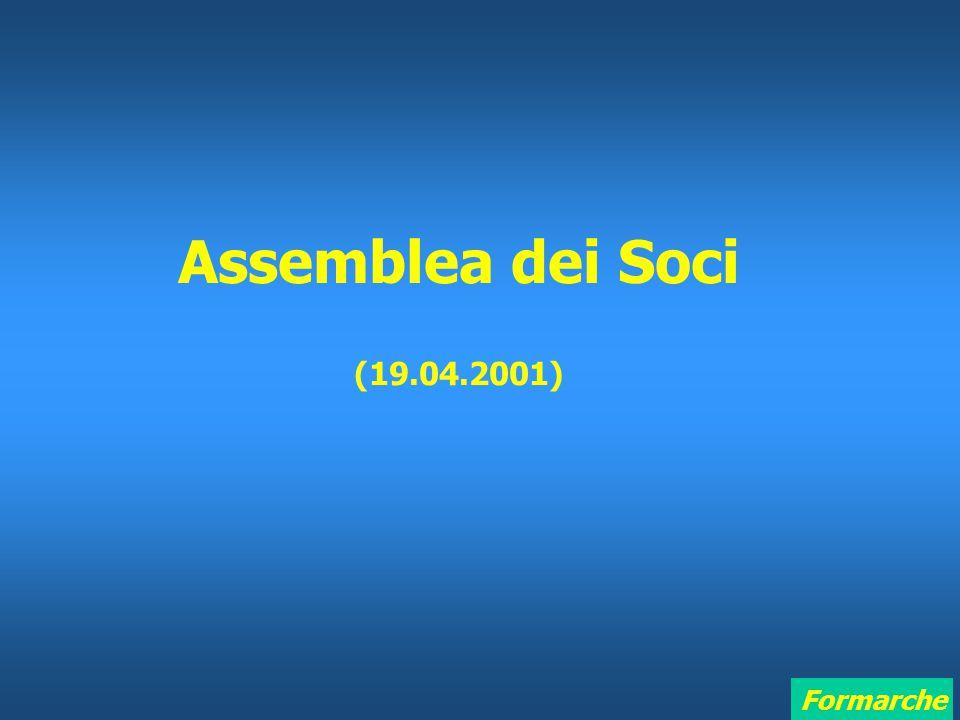 Formarche Assemblea dei Soci (19.04.2001)