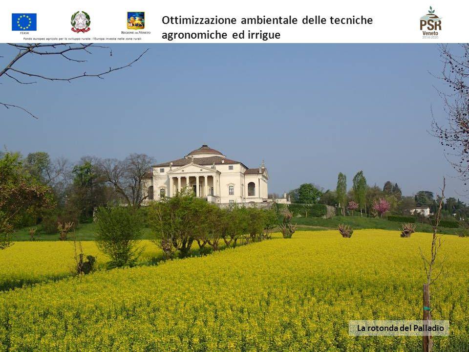 La rotonda del Palladio Ottimizzazione ambientale delle tecniche agronomiche ed irrigue