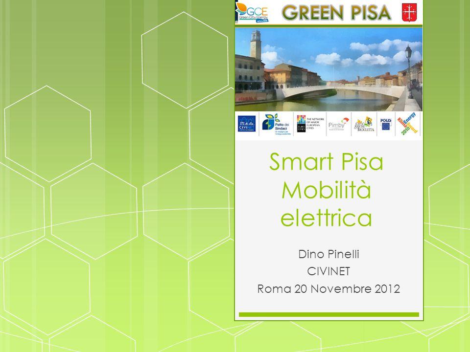 Smart Pisa Mobilità elettrica Dino Pinelli CIVINET Roma 20 Novembre 2012