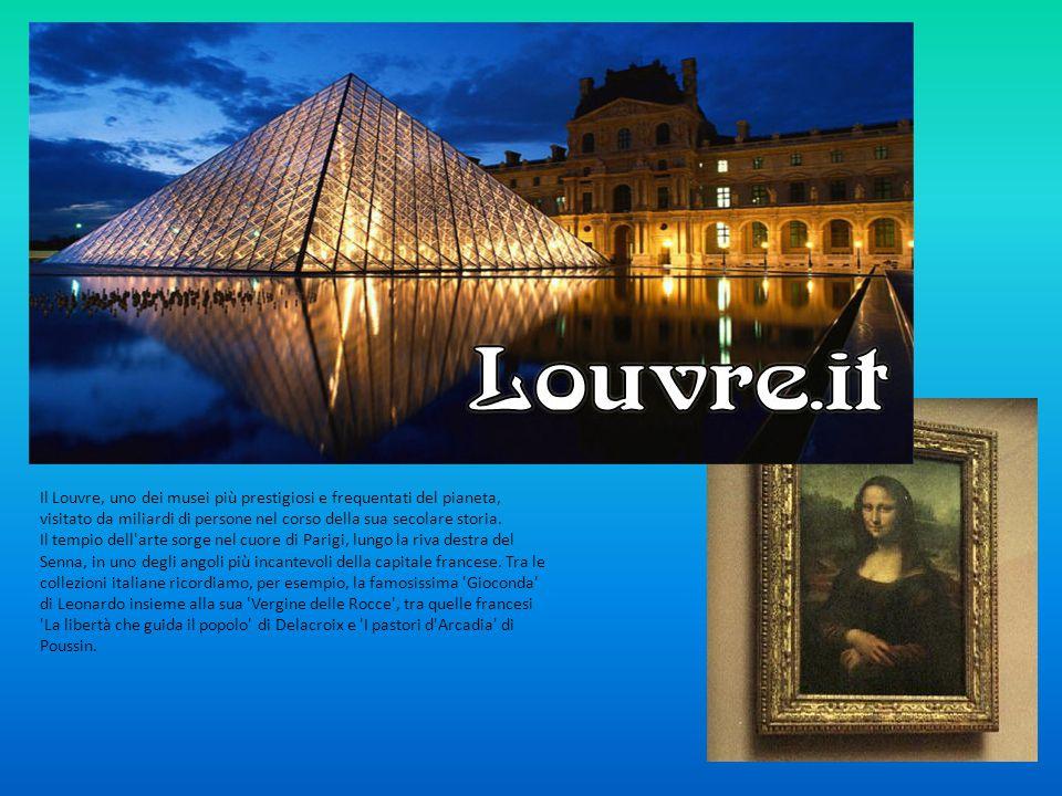 Il Louvre, uno dei musei più prestigiosi e frequentati del pianeta, visitato da miliardi di persone nel corso della sua secolare storia.
