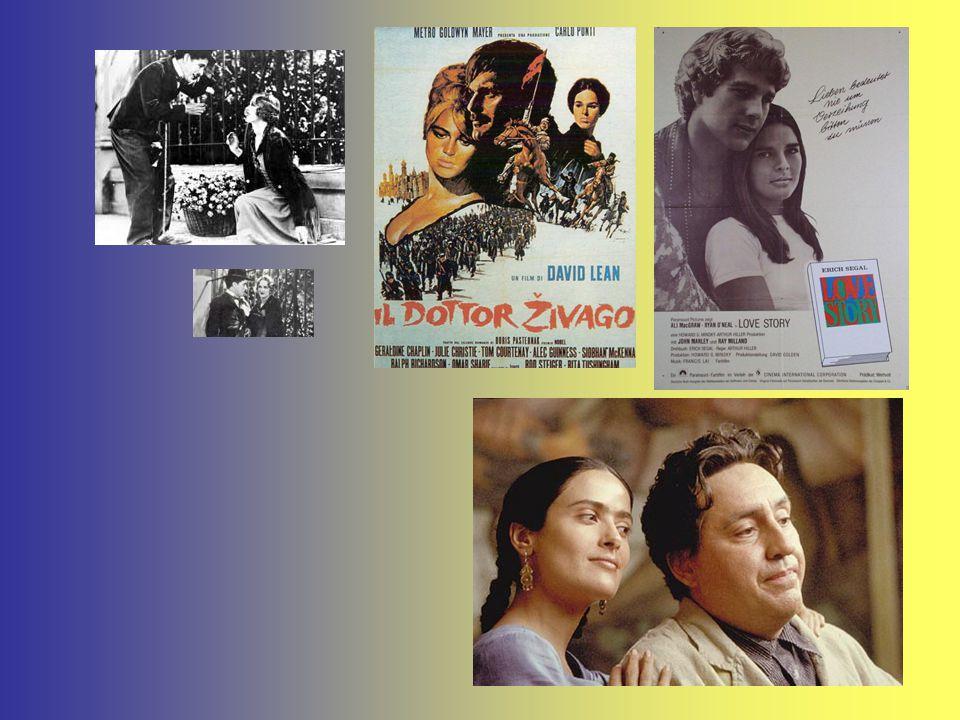 """Nel XX secolo i romanzi e le poesie e i film che raccontano storie d'amore sono infiniti: da """"Love story"""" a """"Nuovo cinema paradiso""""; da """"Luci della ci"""