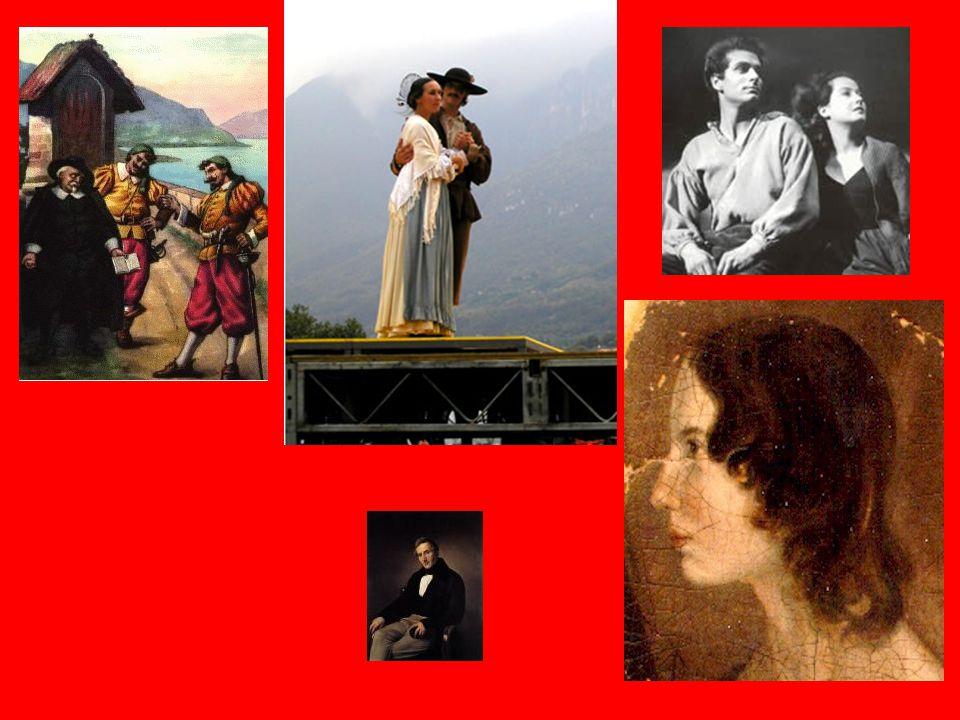"""Nel XIX secolo, in pieno romanticismo, sono stati scritti tanti romanzi che raccontano storie d'amore come """"Cime Tempestose"""", """"I promessi sposi"""" di Al"""