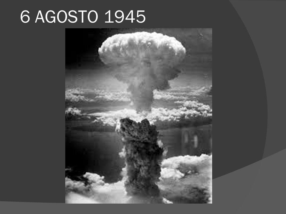 HIROSHIMA 広島 Il 6 agosto 1945 gli americani sganciano sulla città giapponese di Hiroshima un ordigno pesante (chiamato in codice Little Boy ) circa 4000 kg e lungo 3m.
