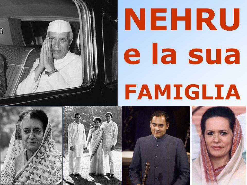 NEHRU e la sua FAMIGLIA