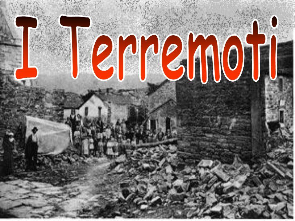 I terremoti o sismi sono rapidi e improvvisi movimenti del suolo.