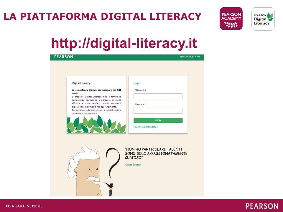 LA PIATTAFORMA DIGITAL LITERACY http://digital-literacy.it