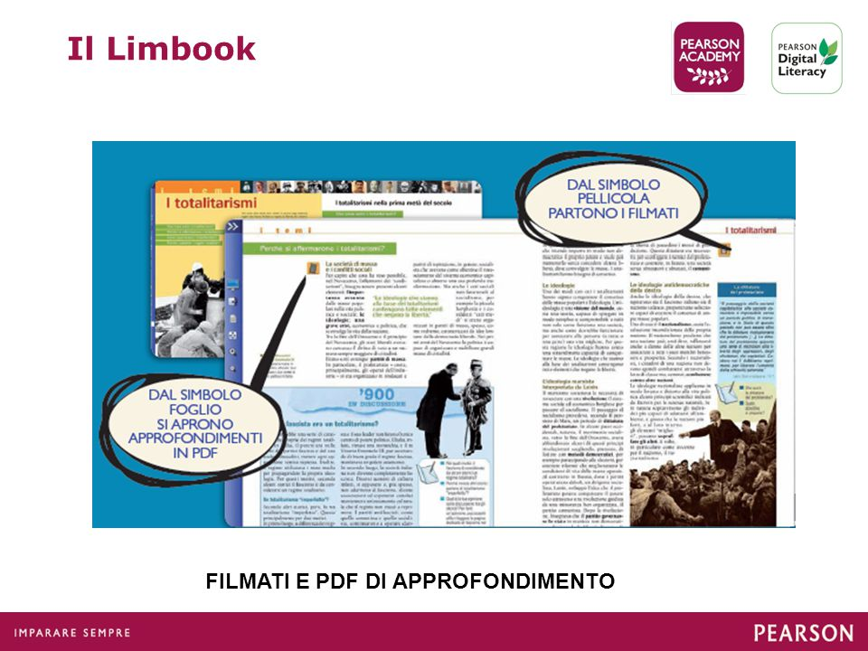 FILMATI E PDF DI APPROFONDIMENTO Il Limbook