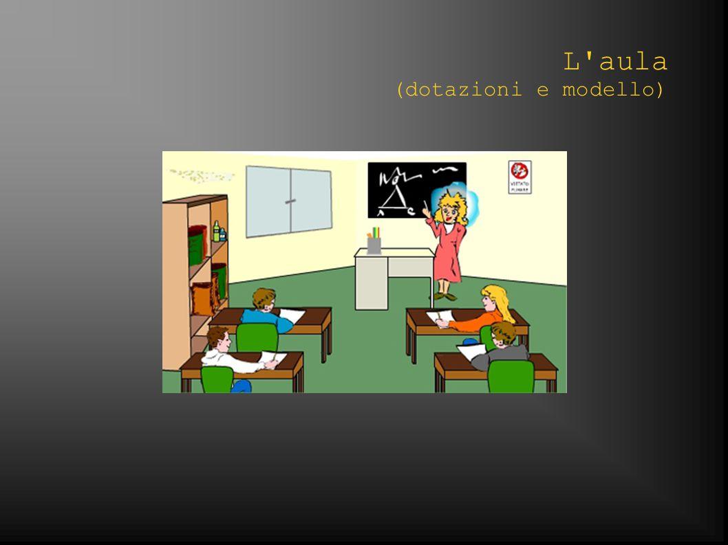 L aula (dotazioni e modello)