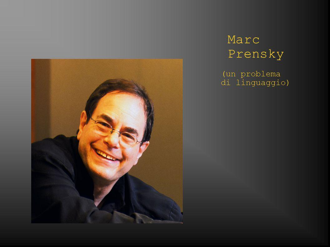 Marc Prensky (un problema di linguaggio)