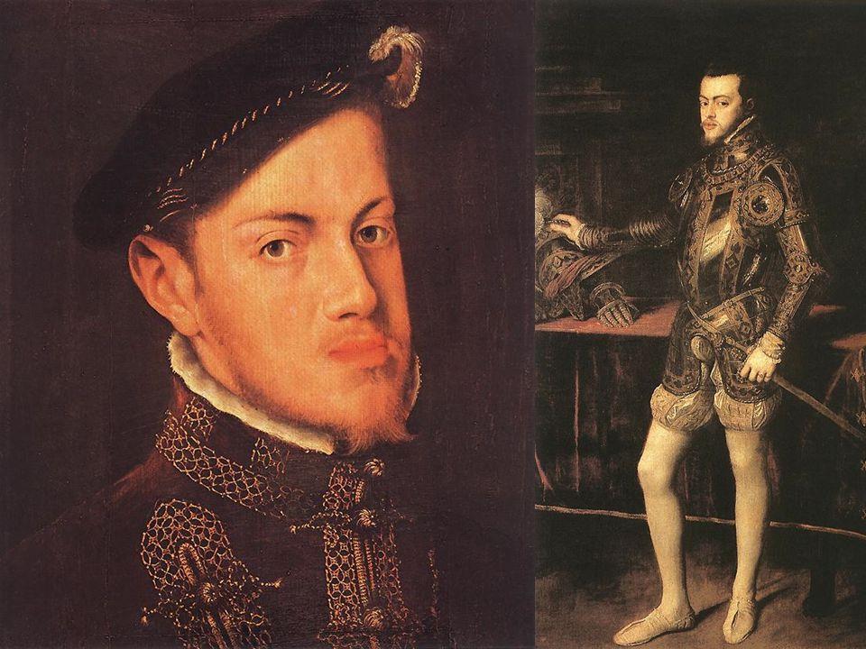 Filippo II nel 1554, all'età di 27 anni.