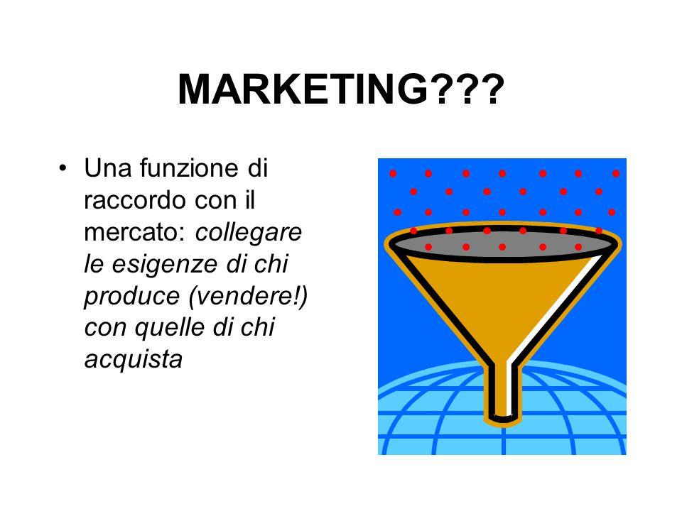 I PRINCIPI 2.La soddisfazione della domanda E' l'obiettivo primario dell'azione di marketing