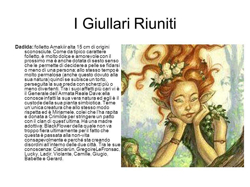 I Giullari Riuniti Dadida: folletto Amakiir alta 15 cm di origini sconosciute.