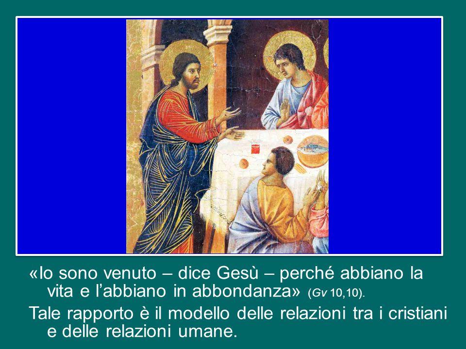 Contemplando questa pagina del Vangelo, possiamo comprendere il tipo di rapporto che Gesù aveva con i suoi discepoli: un rapporto basato sulla tenerez
