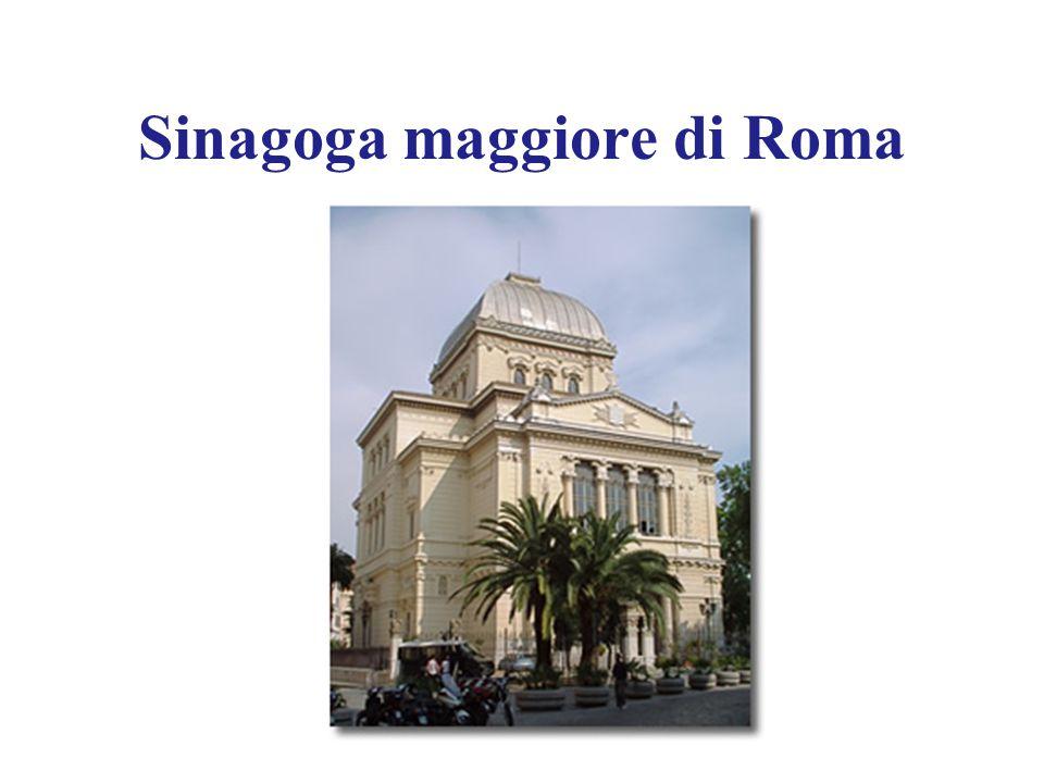 Sinagoga maggiore di Roma