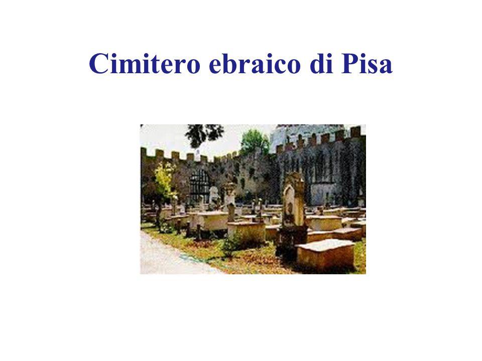 Cimitero ebraico di Pisa