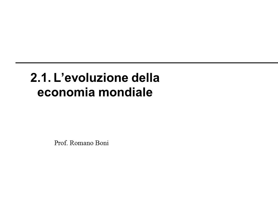 R. Boni Lez. 2.1 - 93 Prof. Romano Boni 2.6. La crisi del Giappone