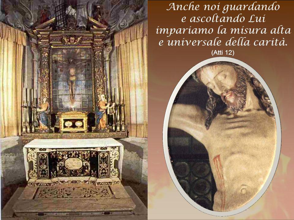 Per alimentare quella fiamma, occorre stare con Lui, nel silenzio dell'Adorazione.