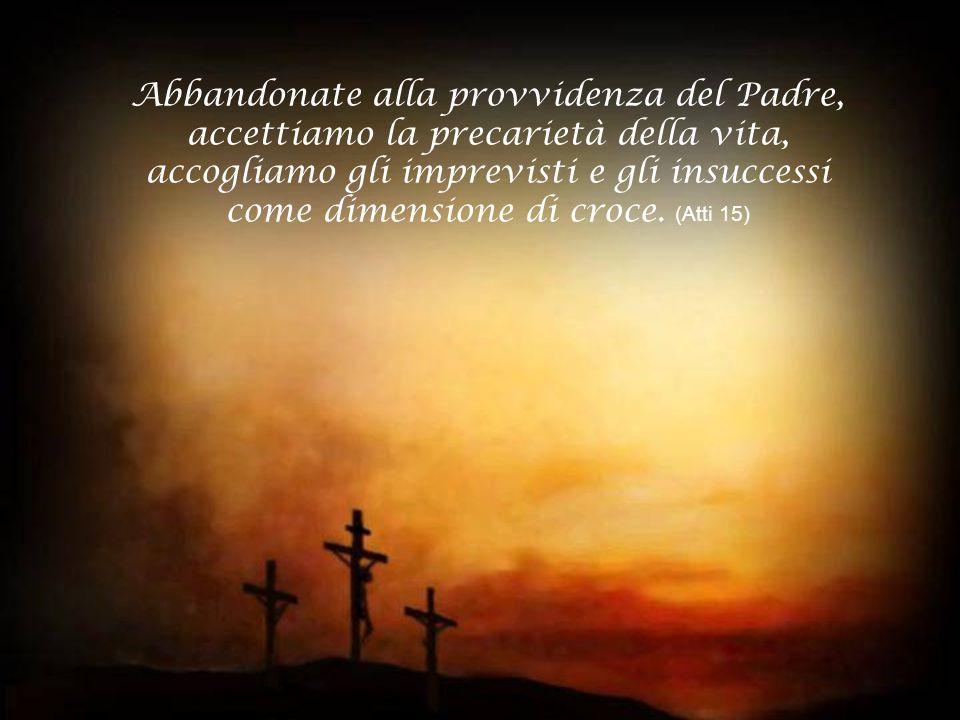Nelle gioie e nelle afflizioni del tempo presente non dubitate che la kenosi di Cristo è già vittoria pasquale.