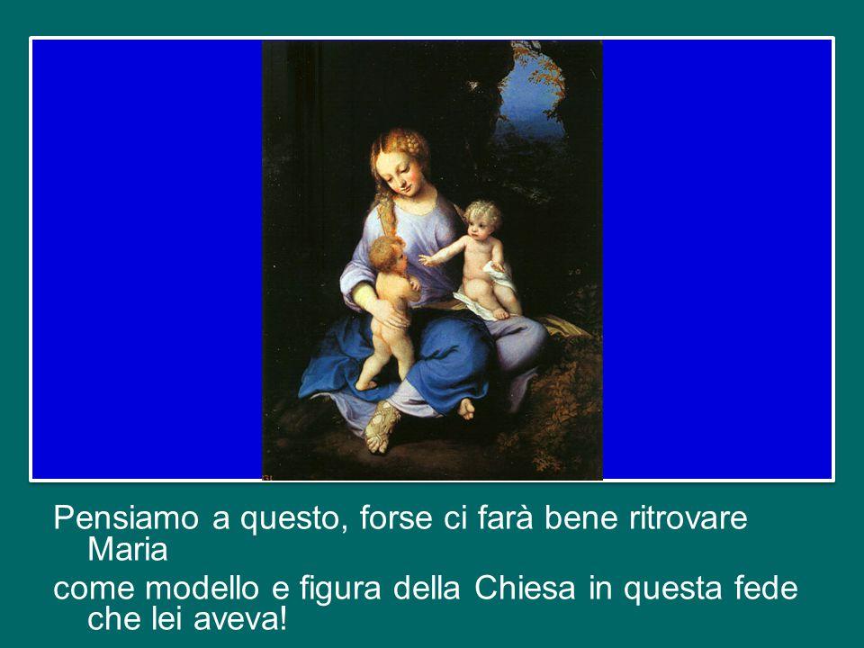 Possiamo farci una domanda: ci lasciamo illuminare dalla fede di Maria, che è nostra Madre? Oppure la pensiamo lontana, troppo diversa da noi? Nei mom