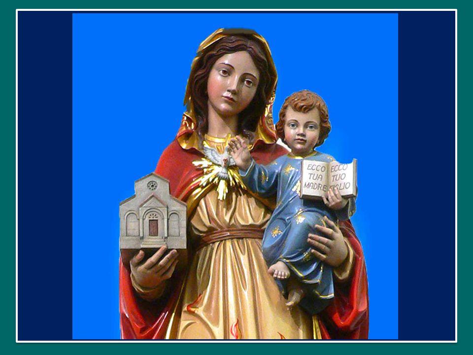 Mater Creatoris Mater admirabilis Regina apostolorum Regina martyrum Virgo clemens Regina pacis