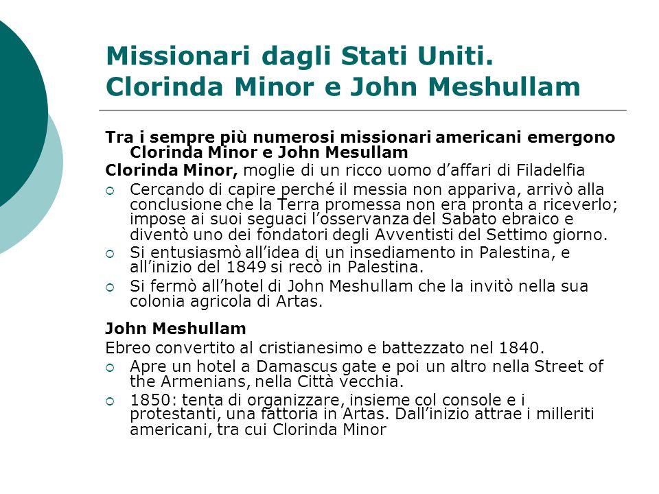 Missionari dagli Stati Uniti.