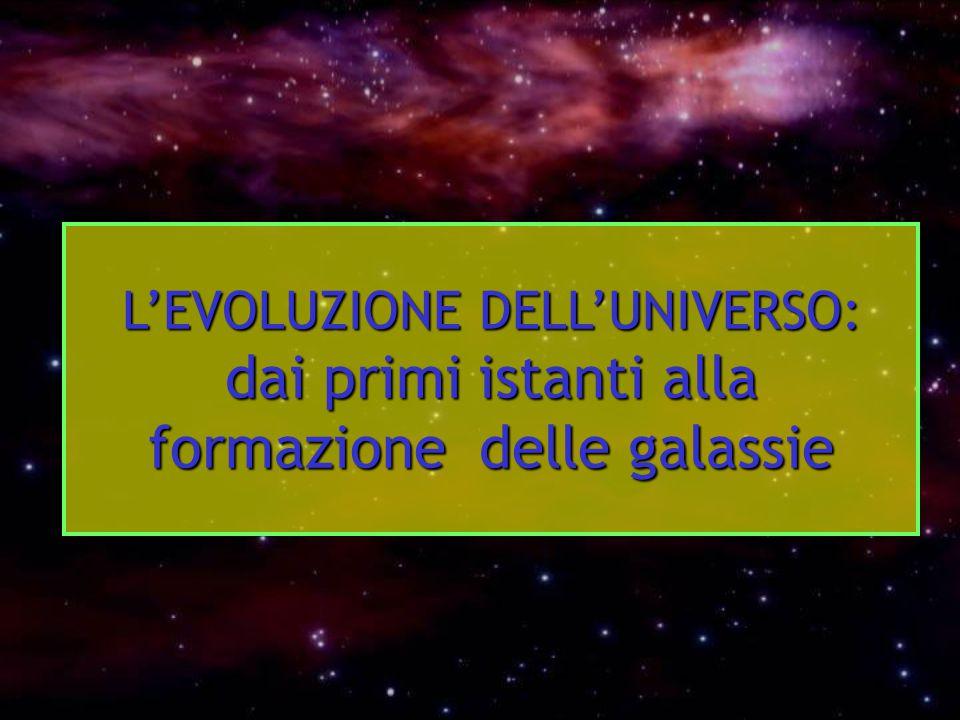L'Universo è Stazionario o in Evoluzione.