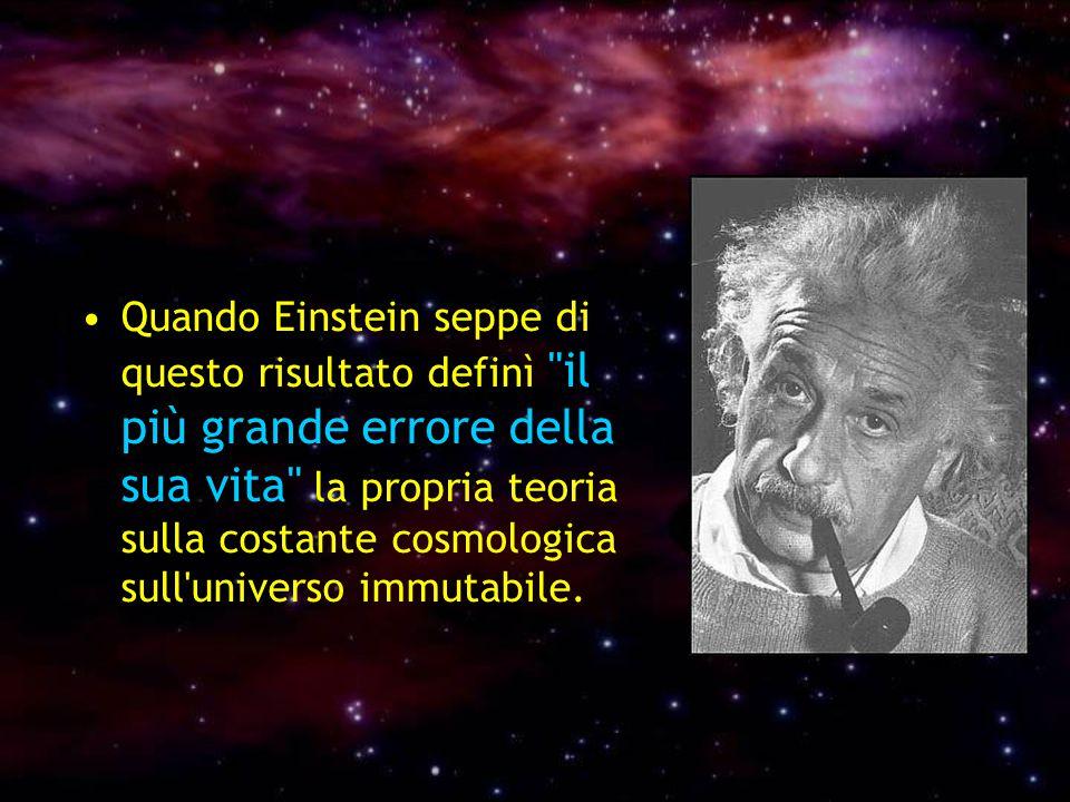 Quando Einstein seppe di questo risultato definì