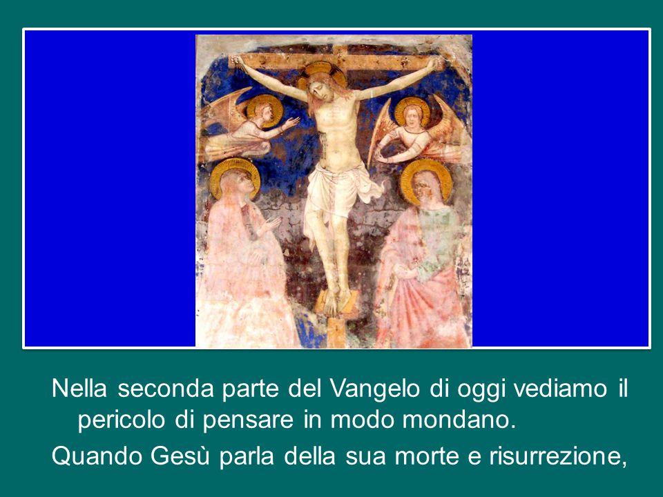 Ed è per questa confessione che Gesù dice: «Tu sei Pietro e su questa pietra edificherò la mia Chiesa» (v. 18). Il ruolo, il servizio ecclesiale di Pi