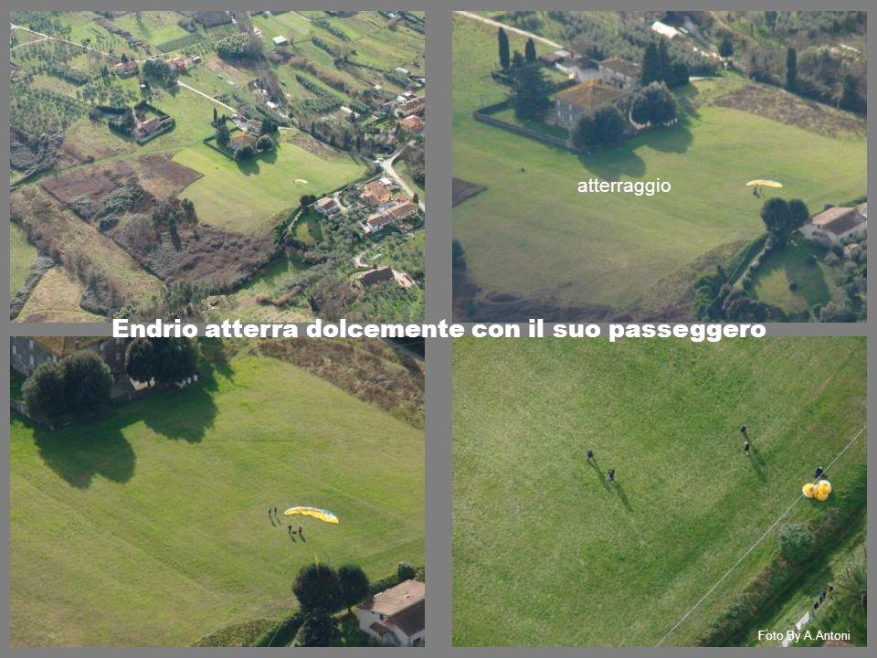 atterraggio Endrio atterra dolcemente con il suo passeggero Foto By A.Antoni