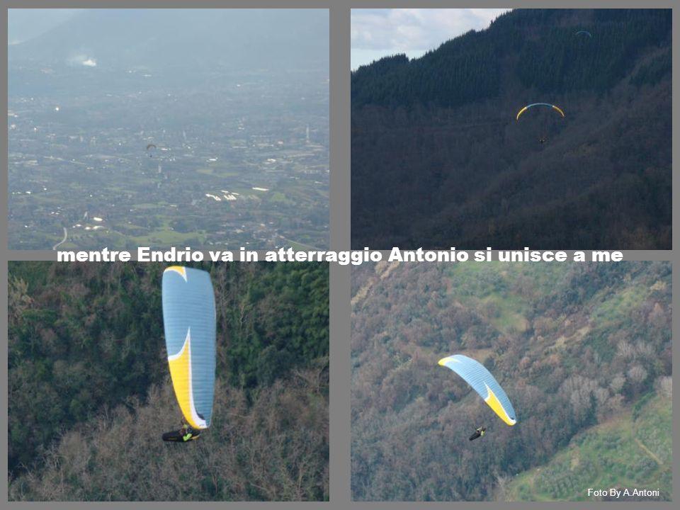 mentre Endrio va in atterraggio Antonio si unisce a me Foto By A.Antoni