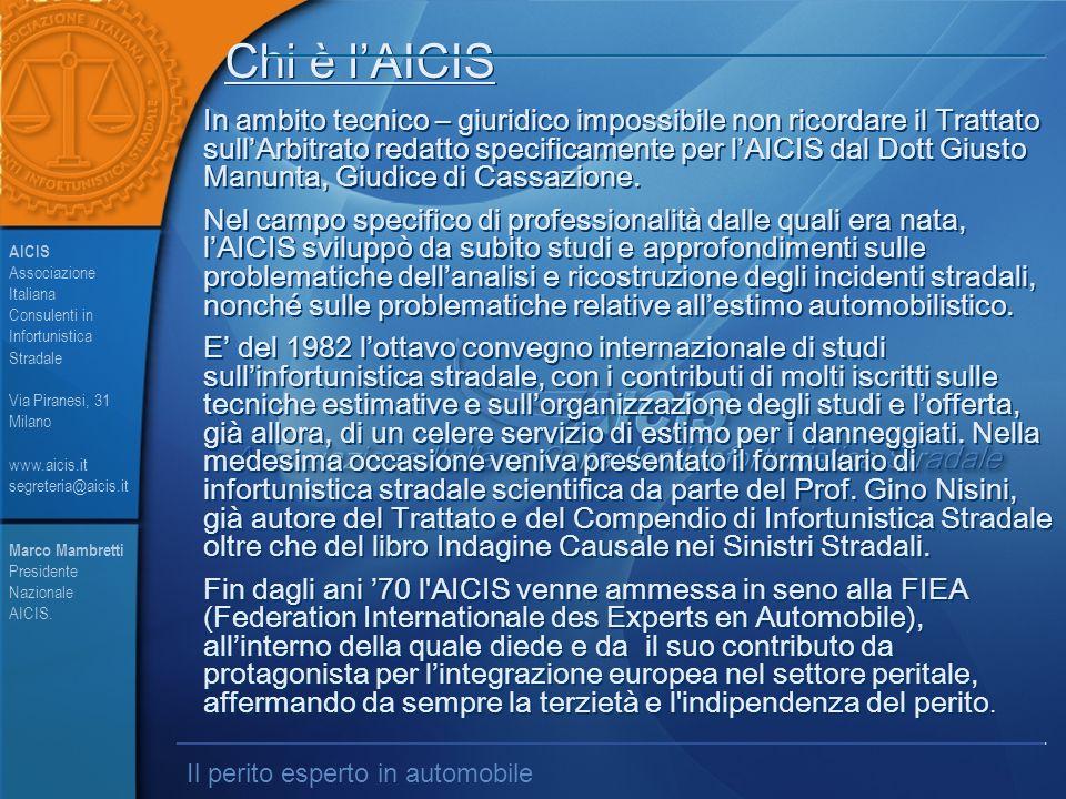 Chi è l'AICIS In ambito tecnico – giuridico impossibile non ricordare il Trattato sull'Arbitrato redatto specificamente per l'AICIS dal Dott Giusto Manunta, Giudice di Cassazione.