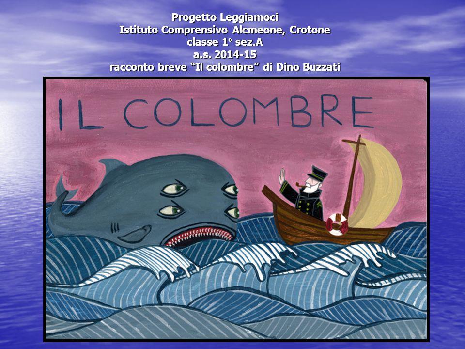 Progetto Leggiamoci Istituto Comprensivo Alcmeone, Crotone classe 1° sez.A a.s.
