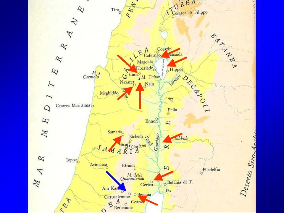 Poi discese a Cafarnao, una città della Galilea, e al sabato ammaestrava la gente.