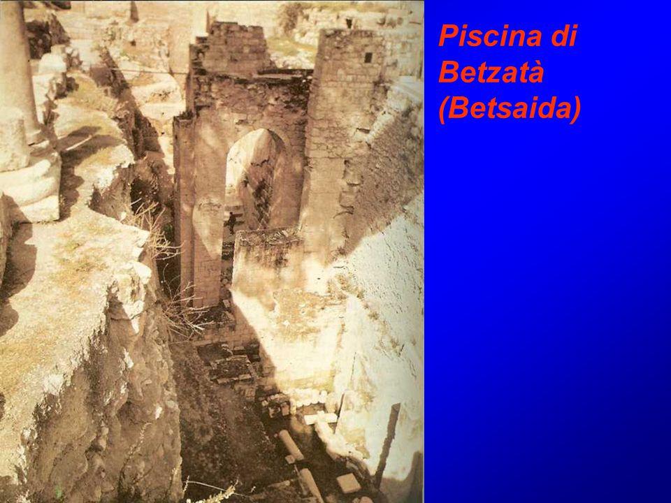 Piscina di Betzatà (Betsaida)