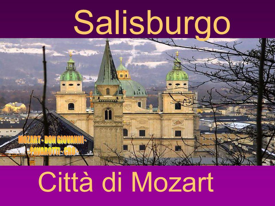 Salisburgo Città di Mozart
