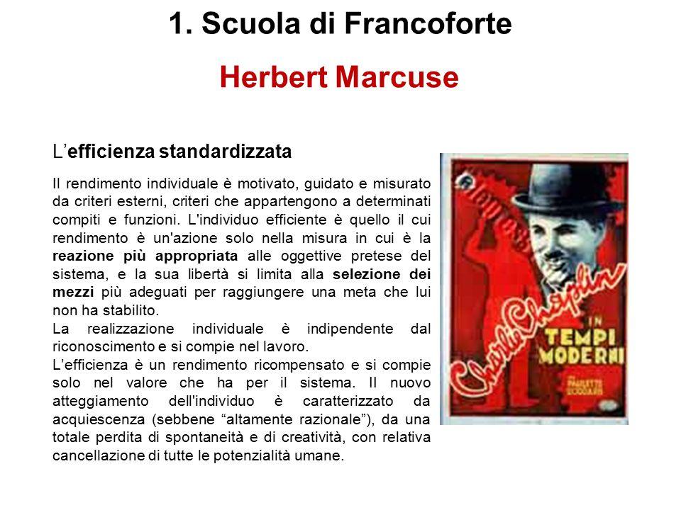 Herbert Marcuse L'uomo a una dimensione. Studio sull'ideologia della società industriale avanzata (One ‑ Dimensional Man. Studies in the Ideology of A