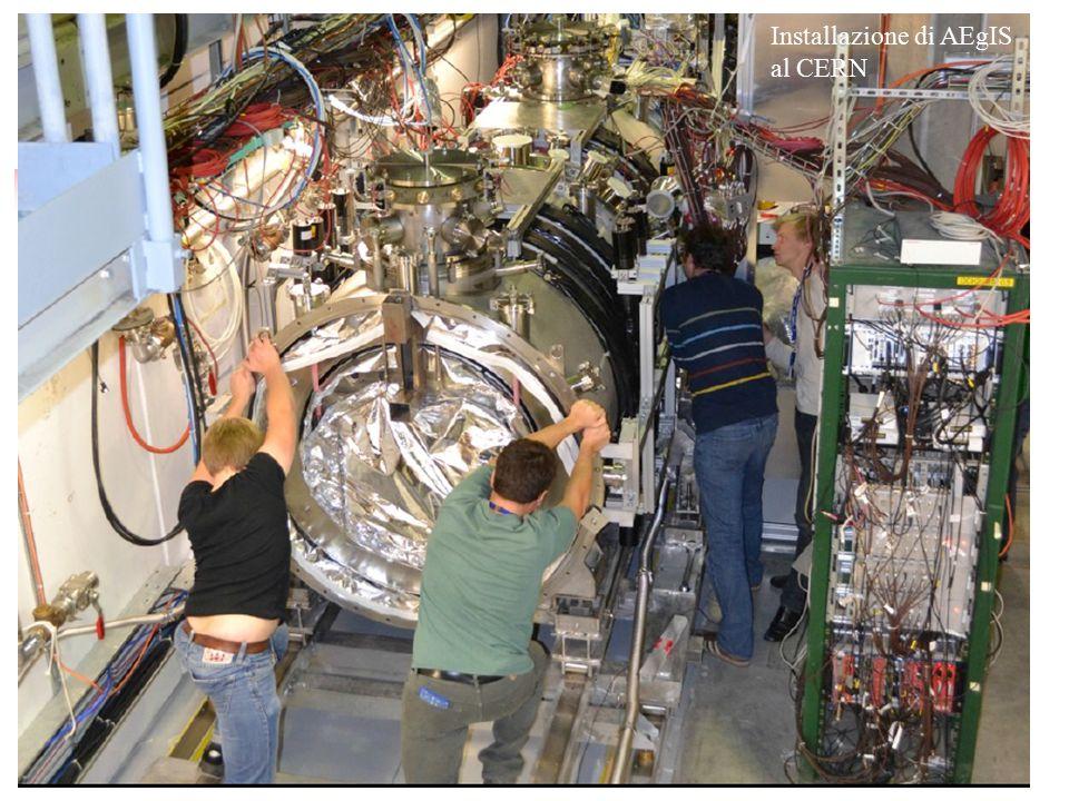 Installazione di AEgIS al CERN