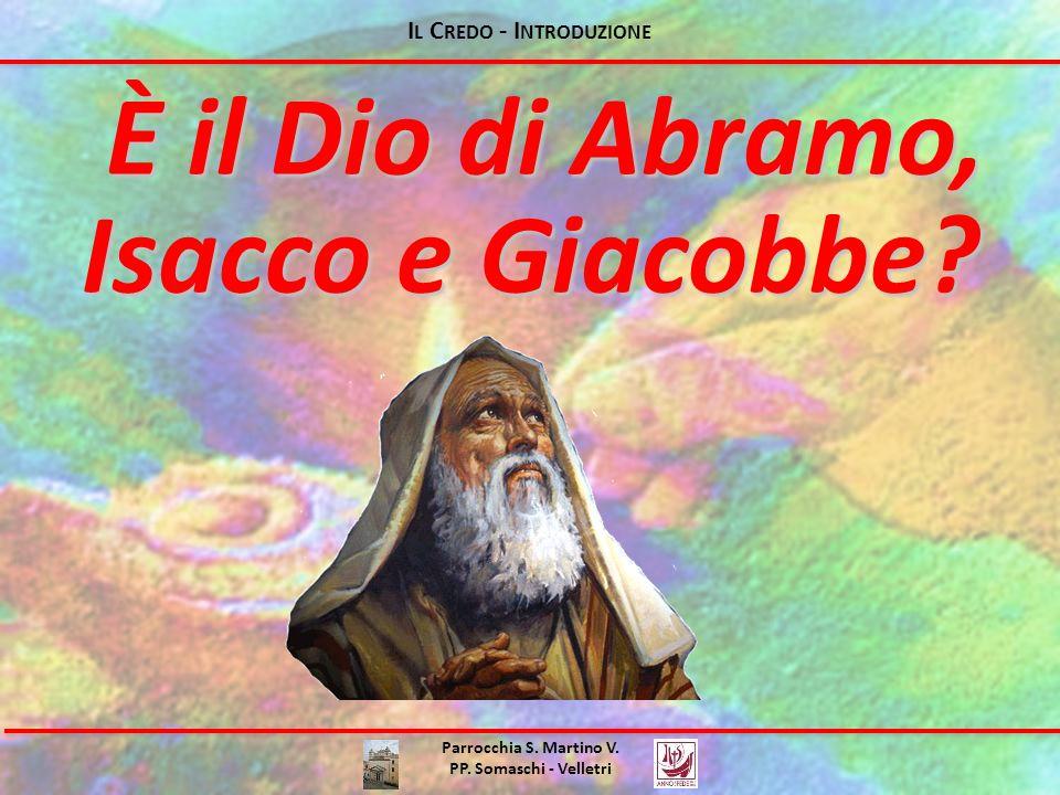 I L C REDO - I NTRODUZIONE Parrocchia S. Martino V.