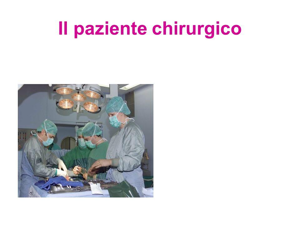 Il paziente chirurgico