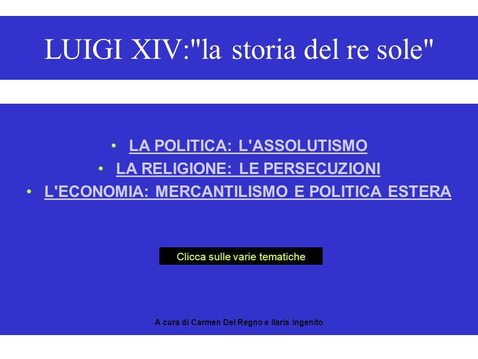 LUIGI XIV: