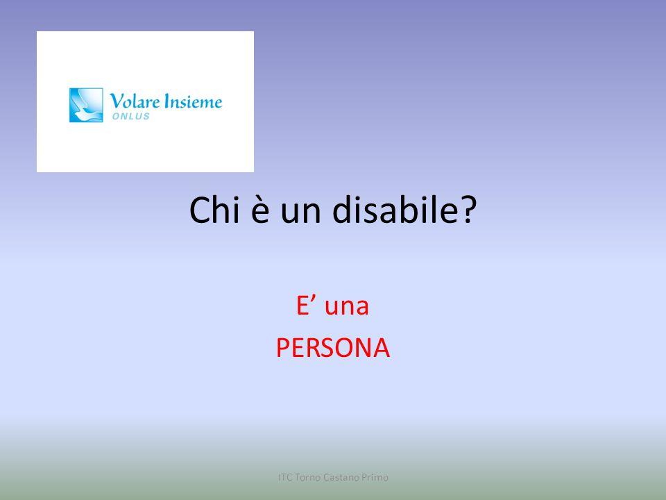 ASSOCIAZIONE VOLARE INSIEME Vanzaghello ITC Torno Castano Primo