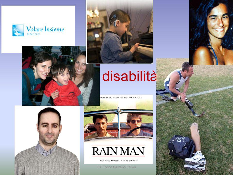 Chi è un disabile? E' una PERSONA ITC Torno Castano Primo