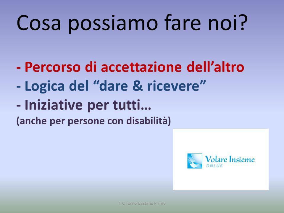 disabilità ITC Torno Castano Primo