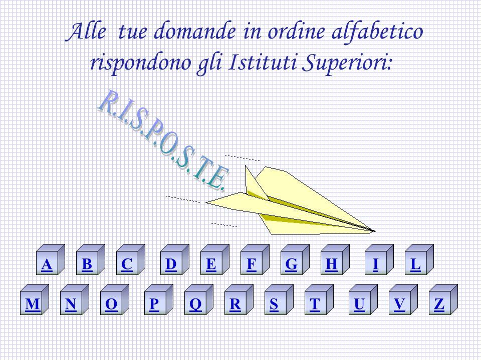 A A COME ATTIVITA' ASSENZE ASCOLTO ACCOGLIENZA ASSEMBLEE Home Page