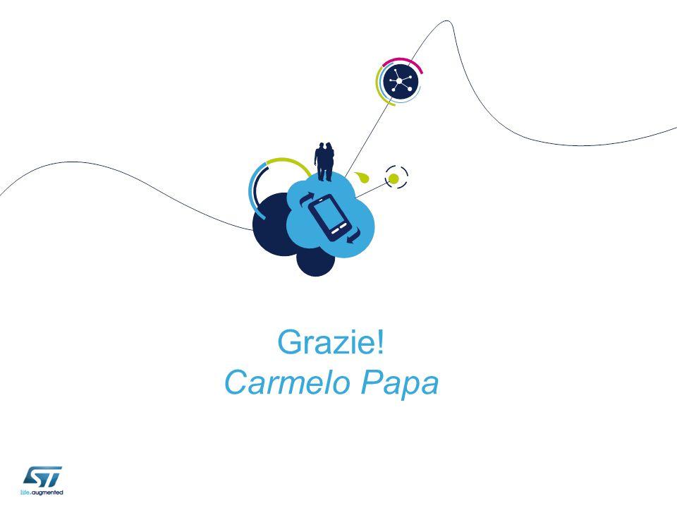 Grazie! Carmelo Papa